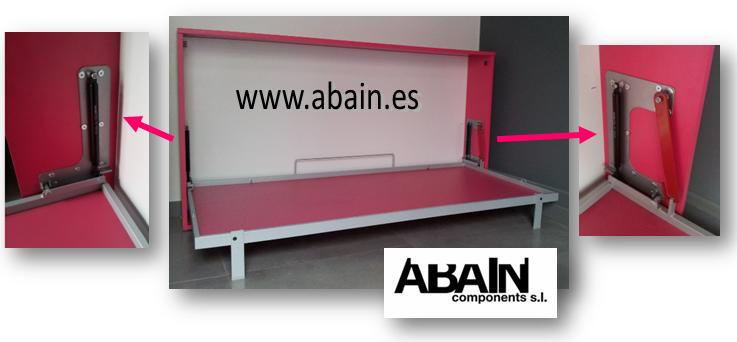 Herrajes para cama abatible fabricante de litera abatible for Amazing camas abatibles